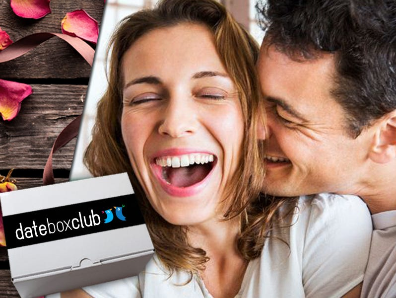 Get date night delivered to your door with 50% off from DateBox Club.
