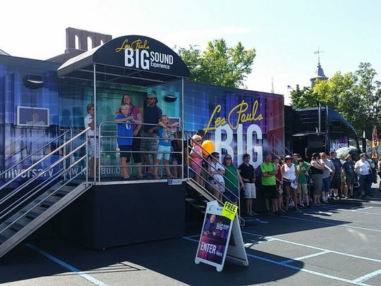 Les Paul's Big Sound Experience will be at MTSU Wednesday
