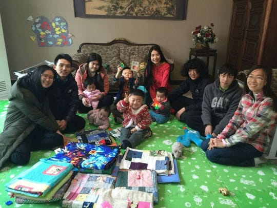 Chinese recipients of some of the blankest made by