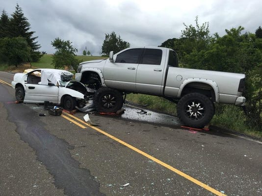 Fatal crash Monmouth