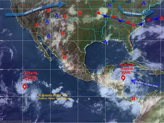 Mexico tormenta