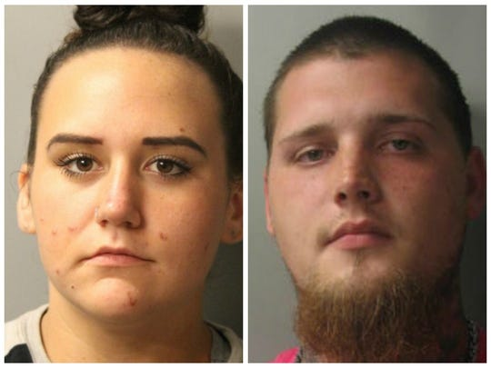 Paige Hobbs, 18, Middletown, and Cody Kidwell, 25, of Smyrna