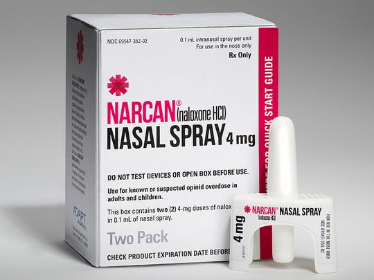 Narcan nasal spray to reverse an opioid drug overdose is expensive.