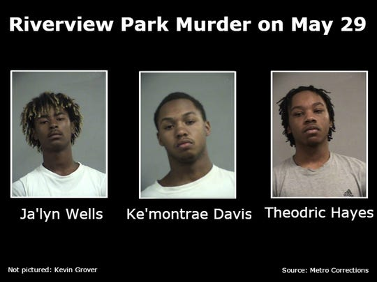 Four men have been accused in the murder of 19-year-old Ryan Higdon on May 29 at Riverview Park in Louisville