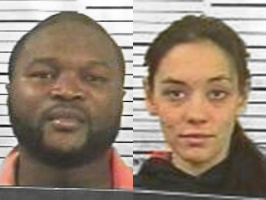 Foday Cheeks, left, and Danielle Taylor were killed