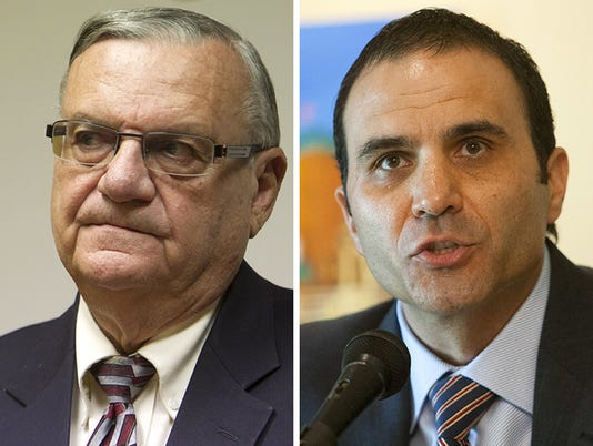 Joe Arpaio and Paul Penzone