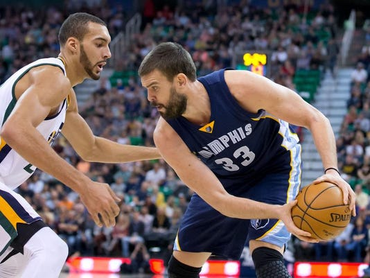 NBA: Memphis Grizzlies at Utah Jazz