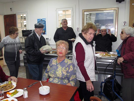 The Haifa Home for Holocaust Survivors provides hot