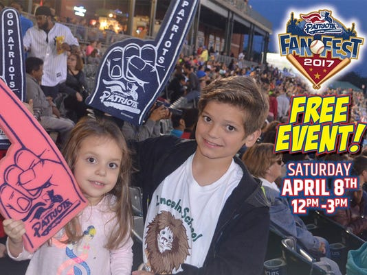 Somerset Patriots Fan Fest set for April 8 PHOTO CAPTION