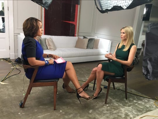 President Donald Trump's daughter Ivanka Trump sat down in April 2017 for a media interview with Gayle King of 'CBS This Morning.'