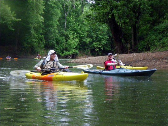 A jewel in southern Indiana, Blue River flows through