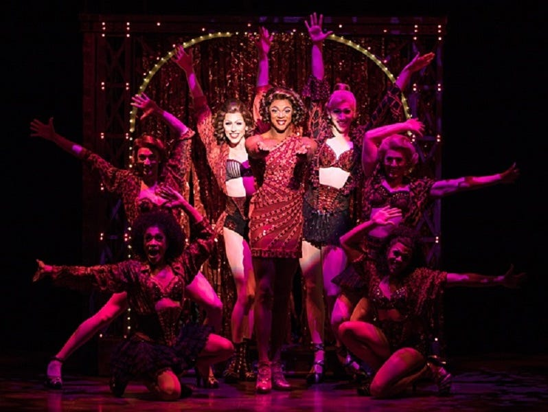 Win two tickets to Kinky Boots.  Enter 4/28 - 6/4.
