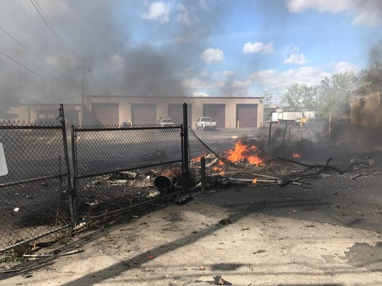 Just minutes after another pilot reported wind shear upon takeoff, a Learjet on its way to Teterboro Airport plunged from the sky in Carlstadt on May 15.