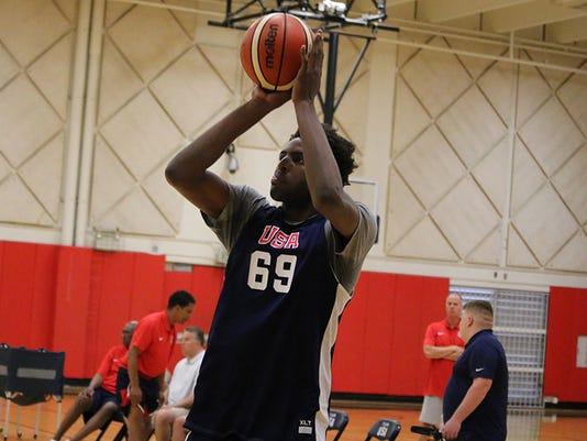 Mitchell Robinson, USA Basketball