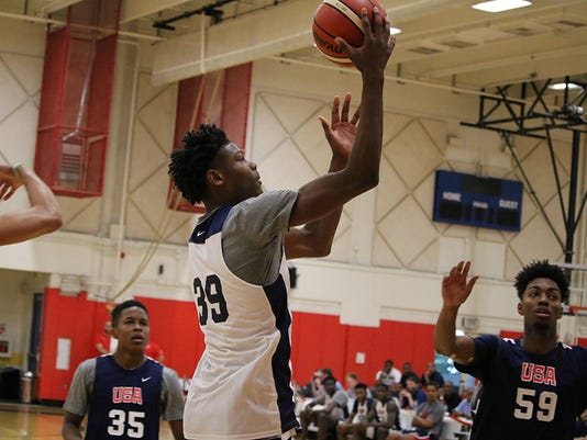 Cameron Reddish, USA Basketball
