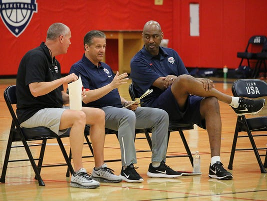 Coaches, Team USA