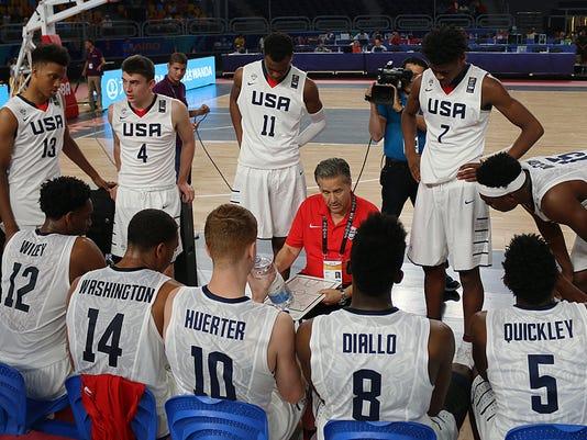 USA Basketball, Angola 1