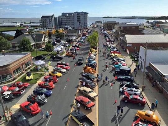 The 11th annual Wheels on the Waterfront Cruise-In, held near the foot of West Main Street in downtown Crisfield, will be held Saturday, July 29.