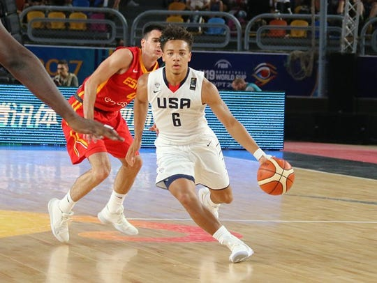 Purdue guard Carsen Edwards played more minutes for