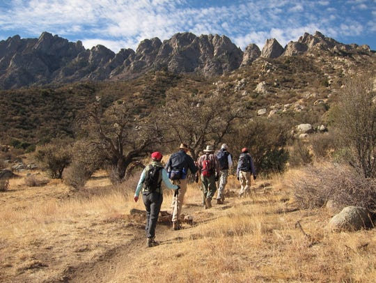 Free hikes in the Organ Mountains-Desert Peaks National