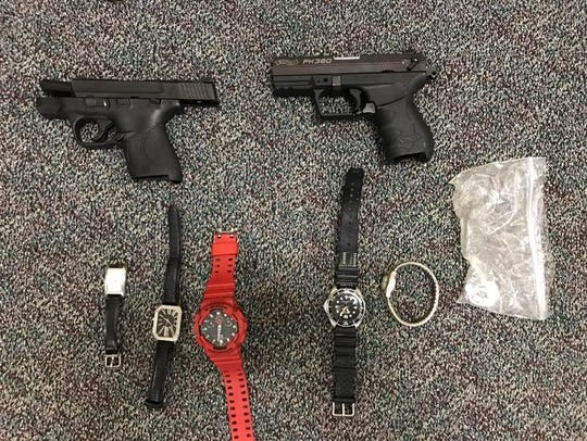 These stolen items were seized from Daniel Dolan.