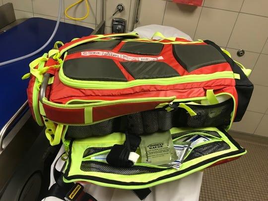 "Vanderbilt University Medical Center bought ""go bags"""