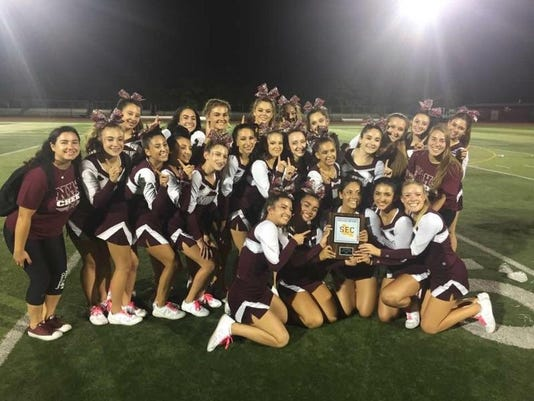 Nutley cheerleading