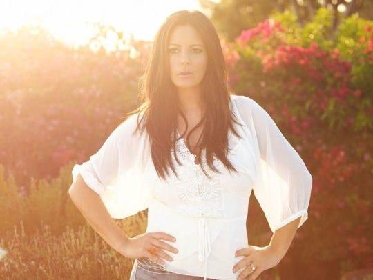 Country music artist Sara Evans sings at Wind Creek