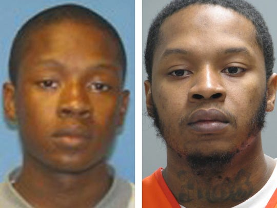 """Kelly Gibbs (shown in a photo released in 2008 and in photo released in 2017), now 29, was serving a 24-year, nine-month sentence for second-degree murder in the death of an Edgemoor man, Stanley """"Savon"""" Jones, 36, during a robbery in 2008. As part of his plea deal, Gibbs also admitted to second-degree assault in an unrelated case from June 2008 in which he shot someone and had been charged with attempted murder."""