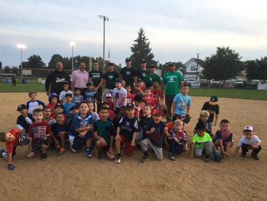 Players and coaches in the South Plainfield Junior