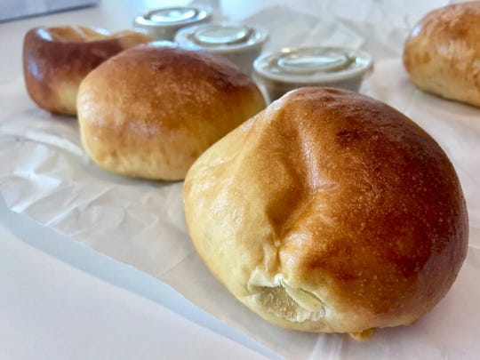 Breakfast kolaches from Coaches' Kolaches.