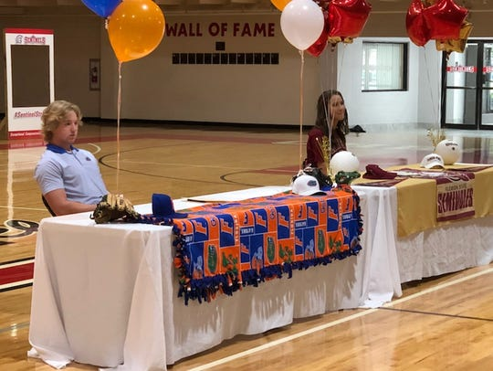 At ECS, pitcher Ben Specht signed with Florida and