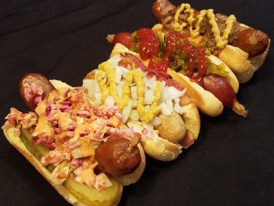 GastroDawgs serves up hot dogs, brats and sausages are all smothered with a variety of tasty toppings.