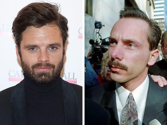 Sebastian Stan, left, and Jeff Gillooly
