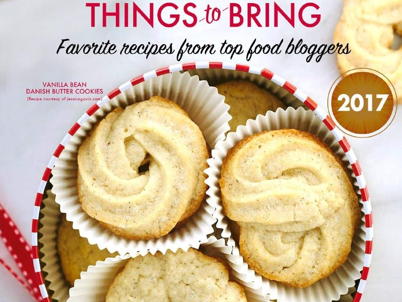 Favorite holiday recipes and simple 'How To's take care of that age-old question of what to bring to a party.