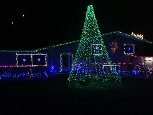 Hales Corners Light Show, 6235 S. 123rd St. can be