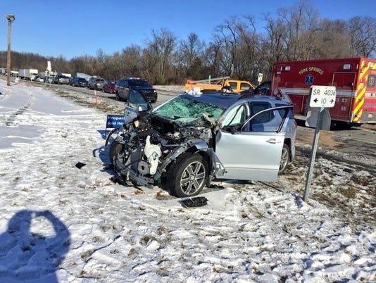 Route 15 crash