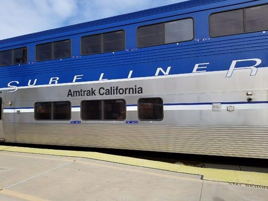 The Amtrak Pacific Surfliner train evacuated Saturday