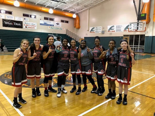 The North Florida Christian girls basketball team beat