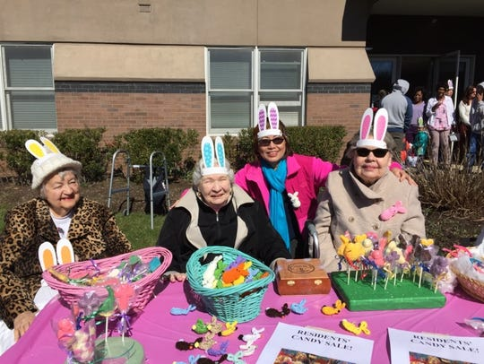 Assisted Living residents at Reformed Church Home display