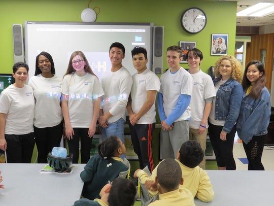 Students from The Wardlaw + Hartridge School in Edison
