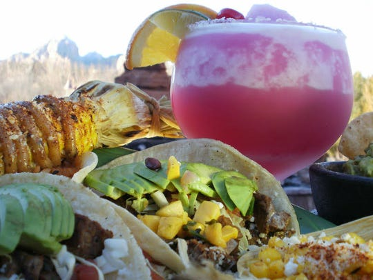 Javelina Cantina in Sedona is an easy-going cheerful