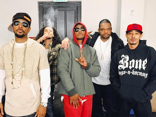 Bizzy Bone of the legendary hip hop group Bone Thugs-n-Harmony (pictured) will perform live in concert with his Carbon Monoxide Tour at Vinyl Music Hall on Wednesday.