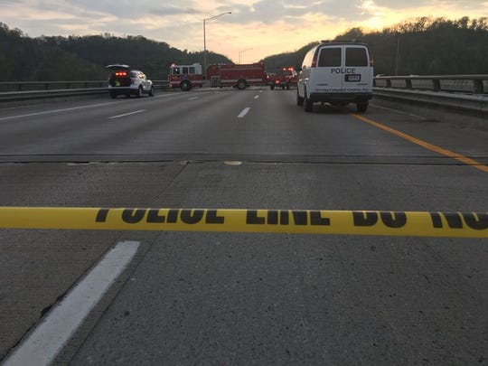 Authorities responded to a fatal crash Wednesday on Interstate 275 in Northern Kentucky.