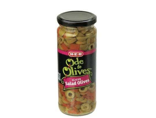 H-E-B Ode to Olives Sliced Salad Olives