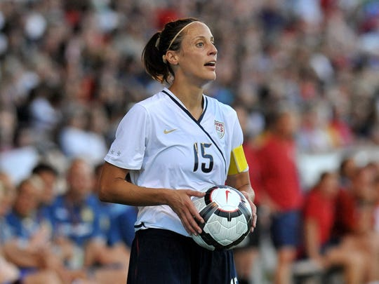 Bloomfield Hills native Kate Sobrero-Markgraf starred at Detroit Country Day and Notre Dame, and was a member of the United States women's national team.
