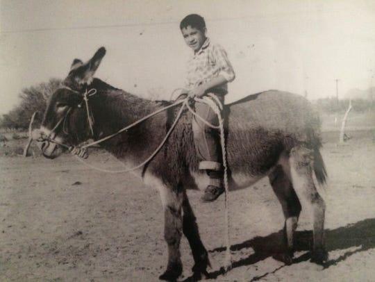 Jose Jimenez as a boy