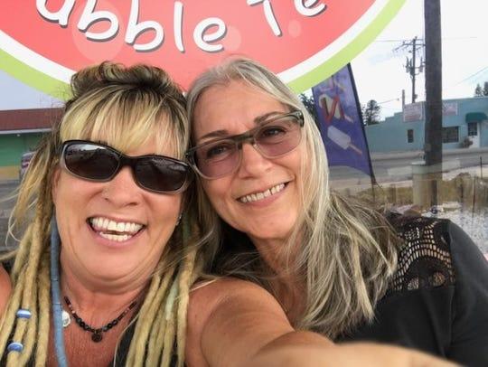 Gina Sapienza, left, and Pamela Walker own Friddu on