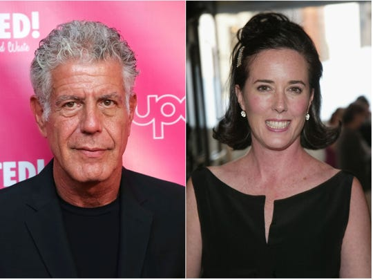 Anthony Bourdain and Kate Spade