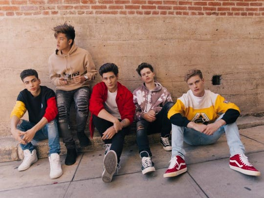 "The group In Real Life, assembled on ABC's reality competition series ""Boy Band"" last summer, will perform at Summerfest Saturday. Brady Tutton (furthest right) is from Shorewood."